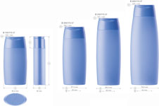Plastic bottles for cosmetics. Series 115 - click to zoom