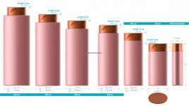 Пластиковые флаконы. Серия 174 - Олимп. Вместимость 500, 400, 300, 250, 200, 150 мл