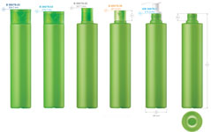 Plastic bottles for cosmetics. Series 78 - click to zoom