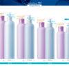 Пластиковые флаконы. Серия 124 - Омега. 400, 250, 200, 150, 100 мл
