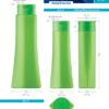 Пластиковые флаконы. Серия 145 - Стелла. 400, 250 мл