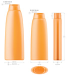 Plastic bottles for cosmetics. Series 156 - Ofelia - click for zoom