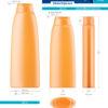 Пластиковые флаконы. Серия 156 - Офелия. 400, 250 мл