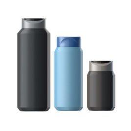 Пластиковые флаконы. Серия 190 - Кристалл. 400, 250, 150 мл