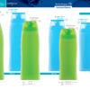 Пластиковые флаконы. Серия 72 - Камея. 500, 350, 250, 200 мл