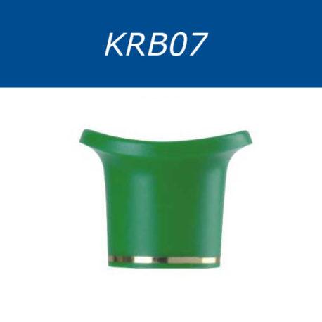 Крышки винтовые, двухцветные. Серия KRB07
