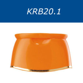 Крышки флип-топ, двухцветные. Серия KRB20.1