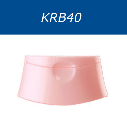Flip-top caps for cosmetics bottles, series KRB40