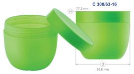 Баночки для крема серии 63 (300 мл) - щелкните, чтобы посмотреть увеличенное фото