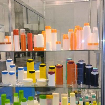 Пластиковая упаковка для косметики производства ООО Громин на выставке interCHARM Украина 2013