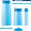 Пластиковые флаконы. Серия 110 - Фараон. 500, 250 мл