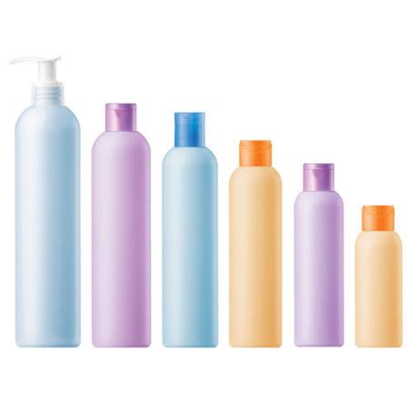 Пластиковые флаконы 124 - Омега. 400, 250, 200, 150, 100 мл