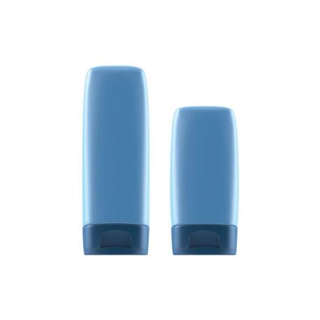 Пластиковый флакон-туба. 150 - Памир. 200, 150 мл