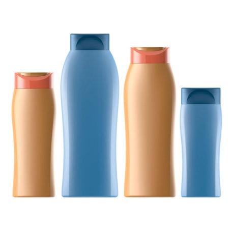Пластиковые флаконы 172 - Лотос. 500, 400, 250, 200 мл