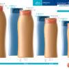 Пластиковые флаконы. Серия 172 - Лотос. 500, 400, 250, 200 мл