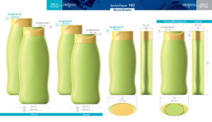 Пластиковые флаконы. Серия 183 - Бамби. 300, 250 мл