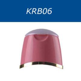 Крышки винтовые, флип-топ, двухцветные. Серия KRB06