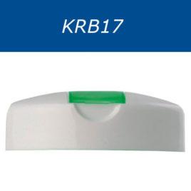 Крышки флип-топ, двухцветные. Серия KRB17