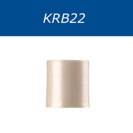 Крышки диск-топ, со стандартной резьбой, двухцветные. Серия KRB22