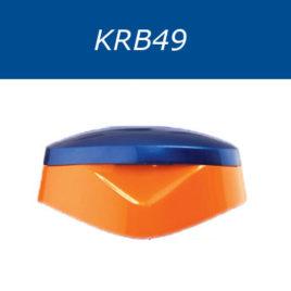 Крышки флип-топ, двухцветные. Серия KRB49